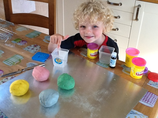 Home made play doh