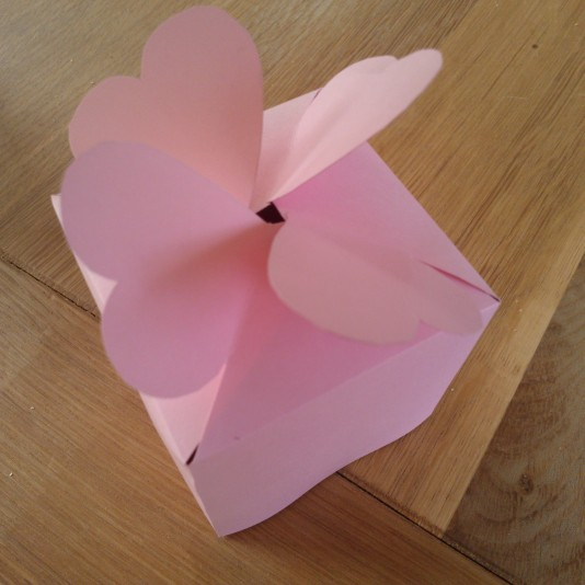 Homemade gift box