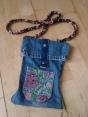Handbag from denim jeans