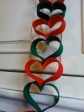 Christmas Heart Garland