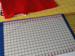 Template to measure felt