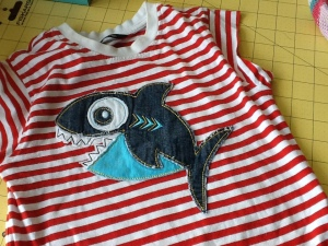 Upcycled T-shirt project