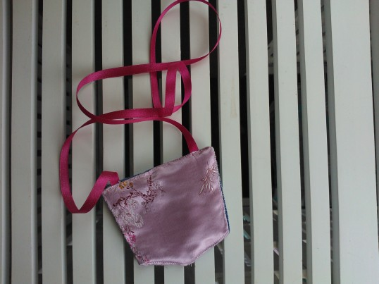 Upcycled clothing purse
