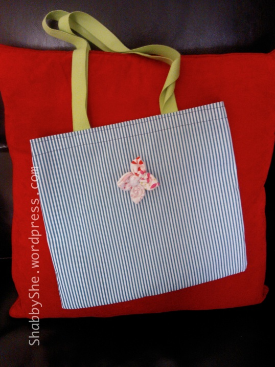 Gift for teacher - pretty tote bag