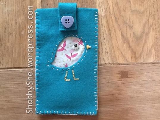 Bird design DIY phone case