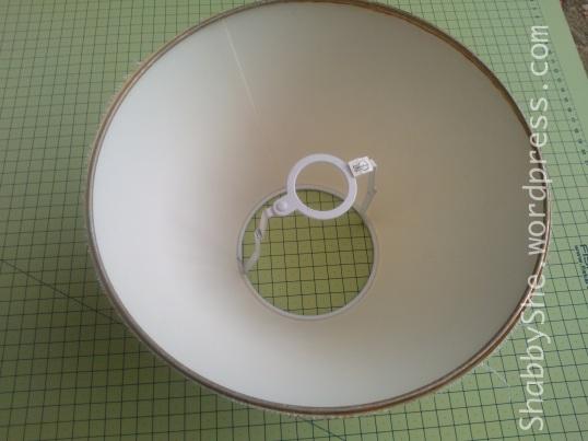 DIY lampshade update