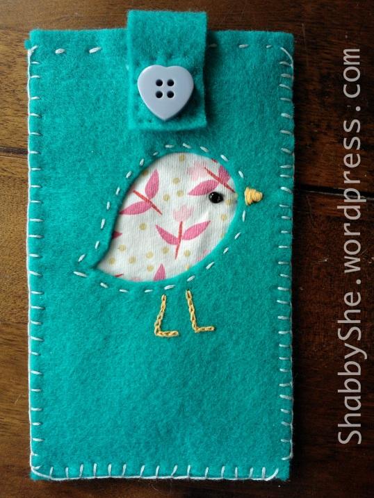 Felt handmade phone case