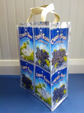 Side view - Capri sun bag