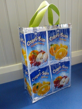 Capri Sun bag - apple cherry