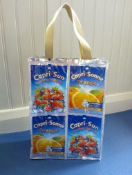 Novelty Capri sun lunch bag